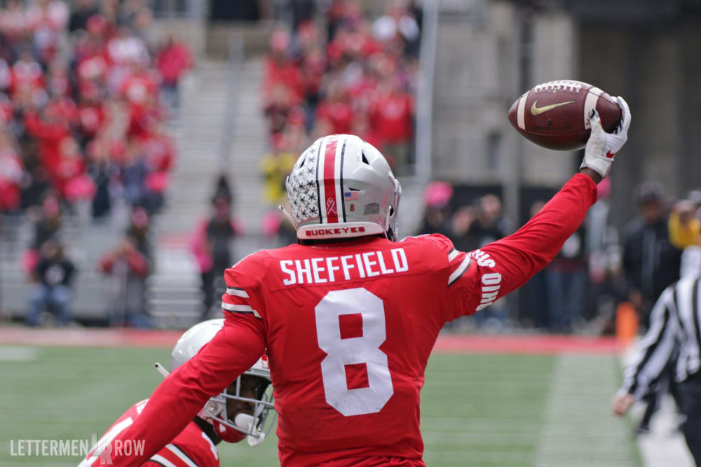 Kendall Sheffield-Ohio State-Buckeyes-Ohio State football-Minnesota