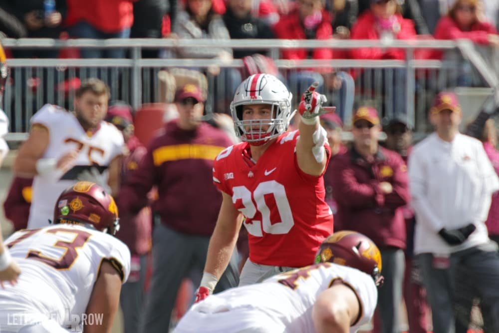 Pete Werner-Ohio State-Buckeyes-Ohio State football-College Football Playoff