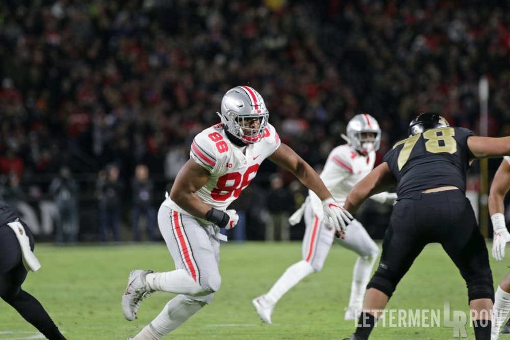 Ohio State-Buckeyes-Ohio State football-Dre'Mont Jones