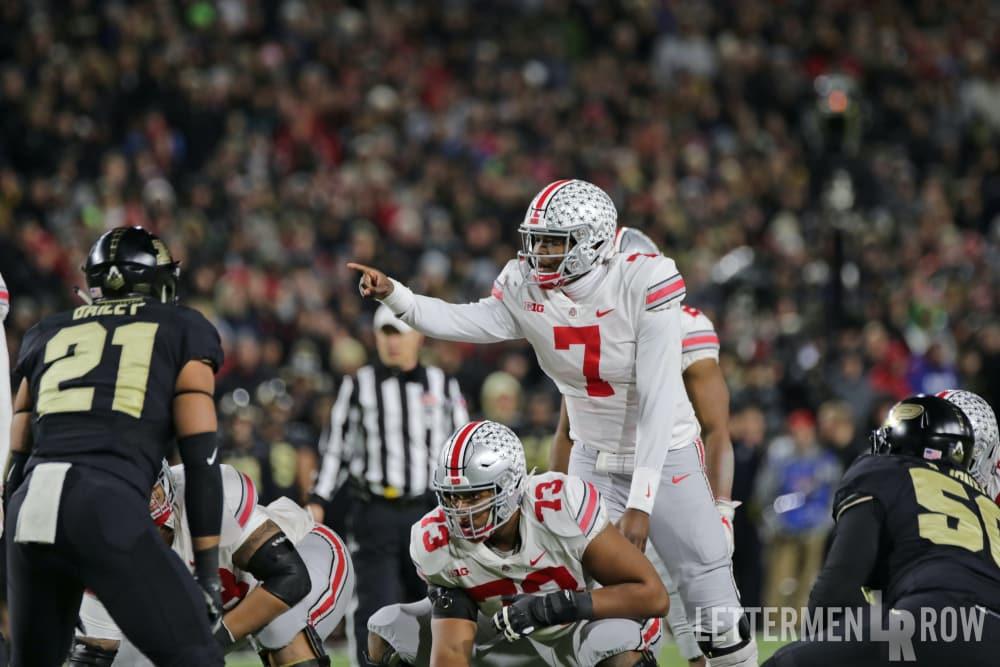 Dwayne Haskins-Ohio State-Buckeyes-Ohio State quarterback