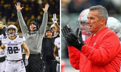 ohio state football-northwestern football-pat fitzgerald-urban meyer