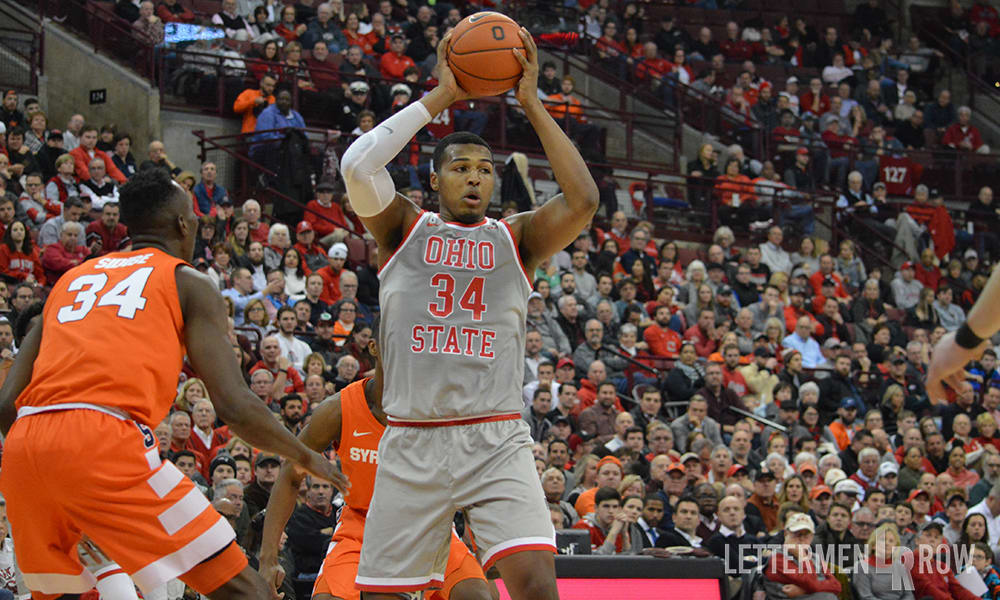 Kaleb Wesson-Ohio State-Buckeyes-Ohio State basketball