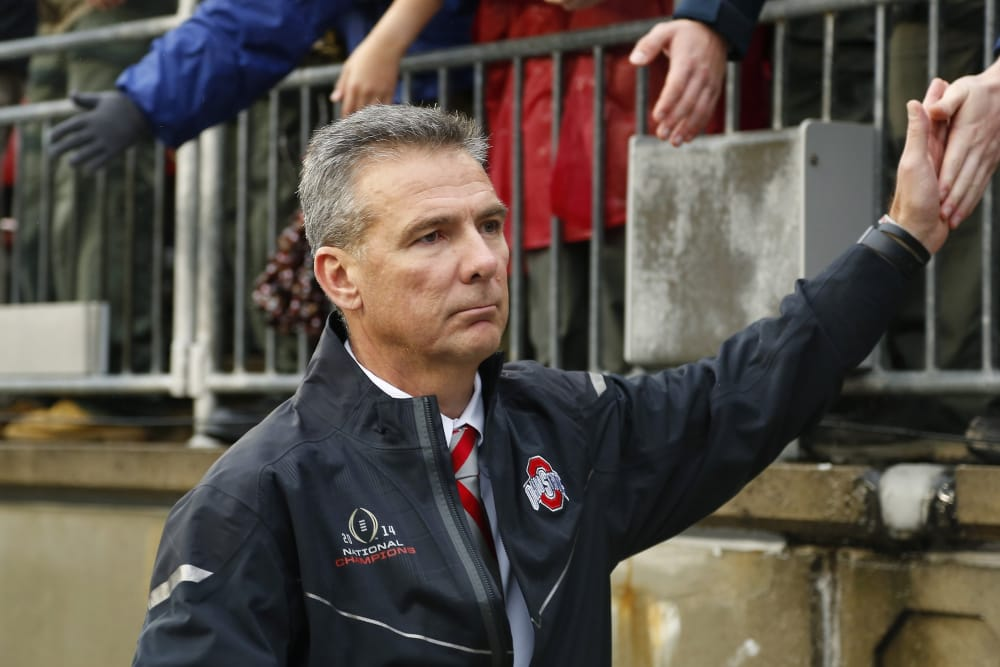 Urban Meyer-Ohio State-Buckeyes-Ohio State football