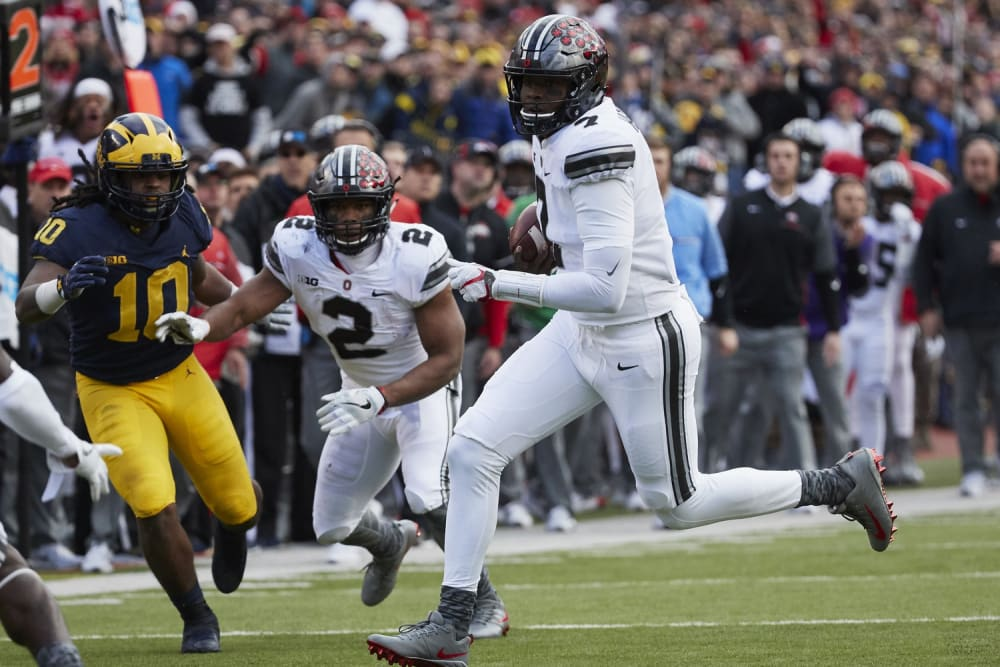 Dwayne Haskins-Ohio State-Buckeyes-The Game-Ohio State football