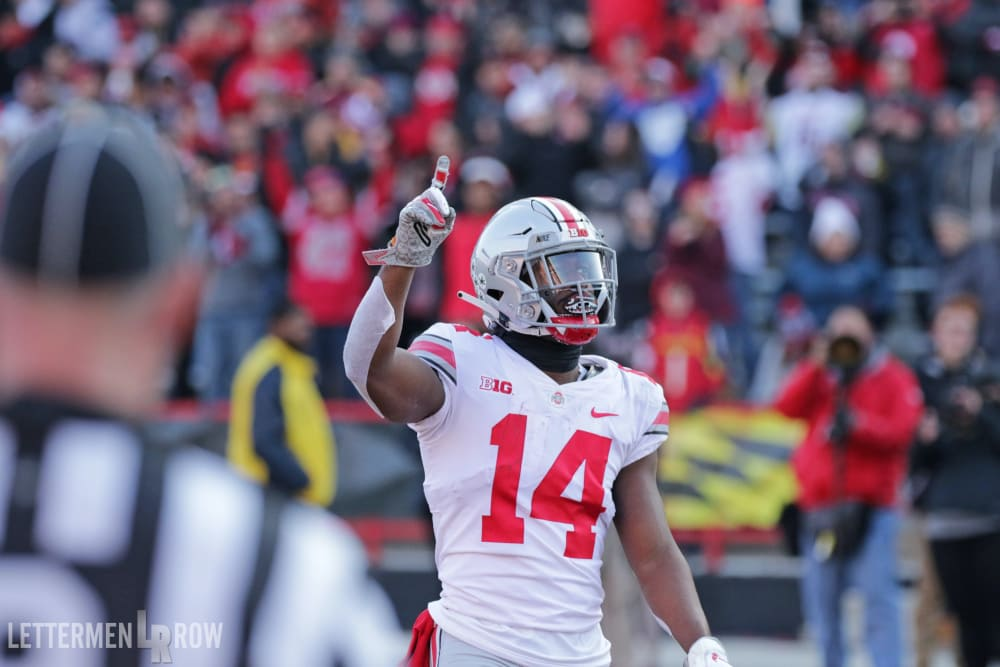 Ohio State-Buckeyes-K.J. Hill-Ohio State football
