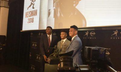 Dwayne Haskins-Tua Tagovailoa-Kyler Murray-Heisman Trophy