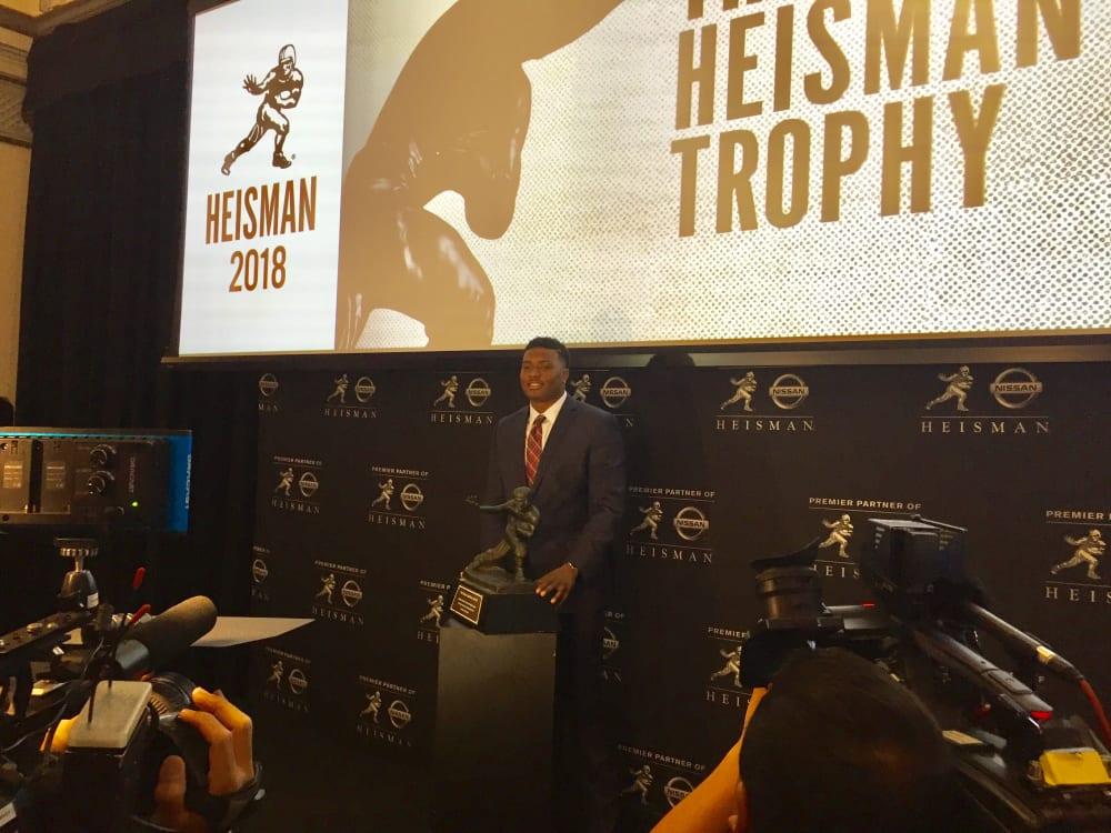 Dwayne Haskins-Heisman Trophy-Ohio State-Buckeyes-Ohio State football