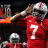 ohio state-buckeyes-dwayne haskins-heisman trophy-troy smith