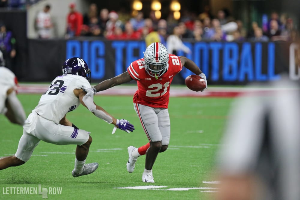 Parris Campbell-Ohio State-Buckeyes-Ohio State football