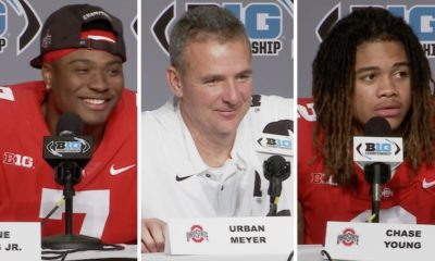 ohio state football-dwayne haskins-urban meyer-chase young