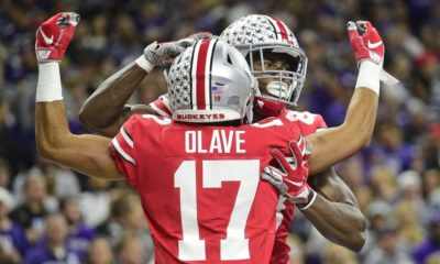 Chris Olave-Ohio State-Buckeyes-Ohio State football