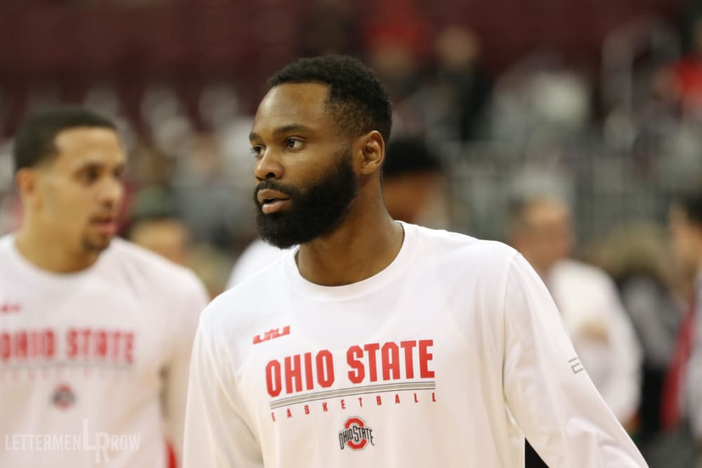 Keyshawn Woods-Ohio State-Buckeyes-Ohio State basketball