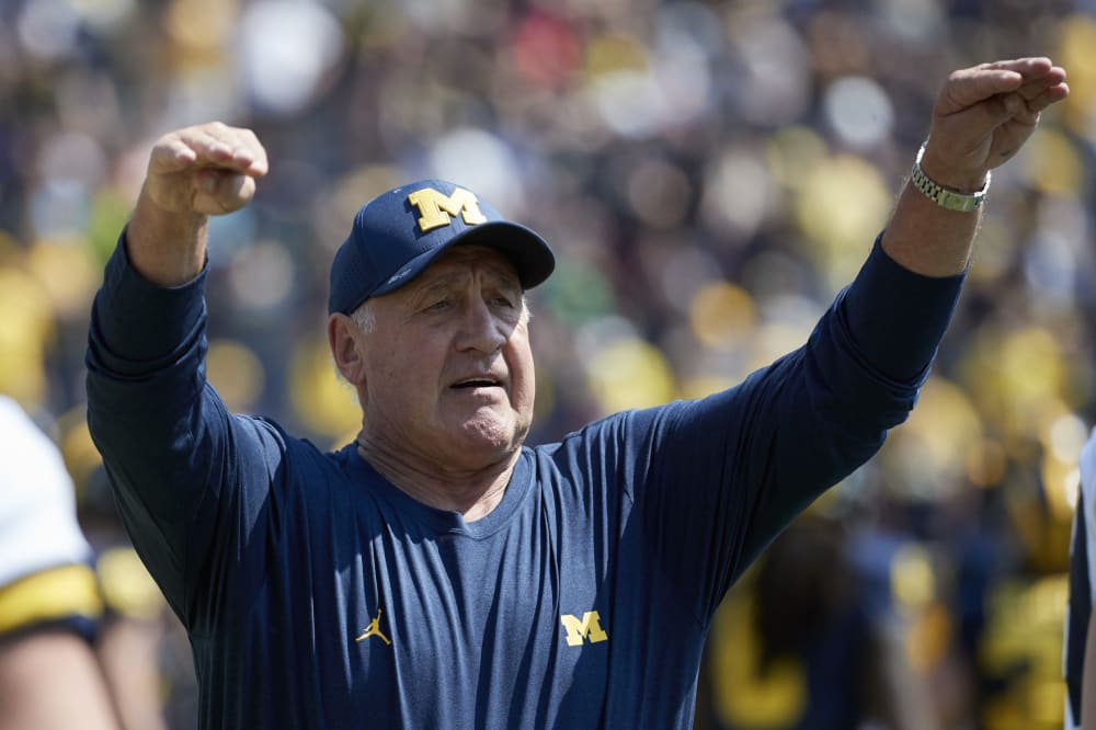 Greg Mattison-Ohio State-Michigan-Ohio State football