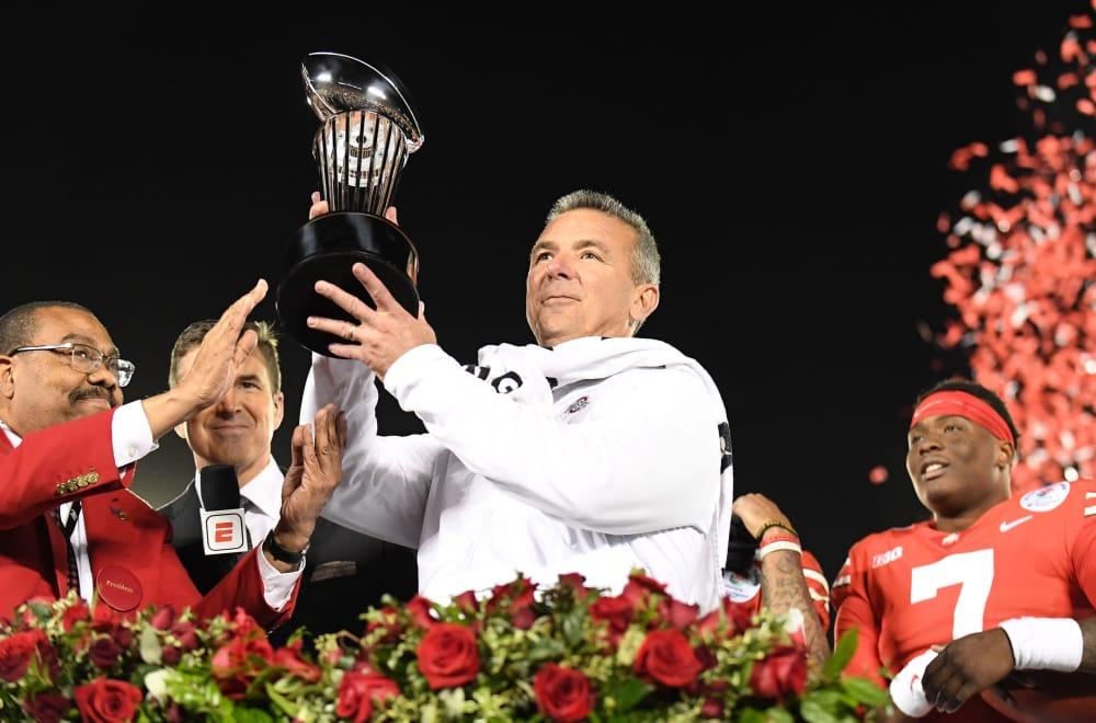 Urban Meyer - ohio state football-rose bowl
