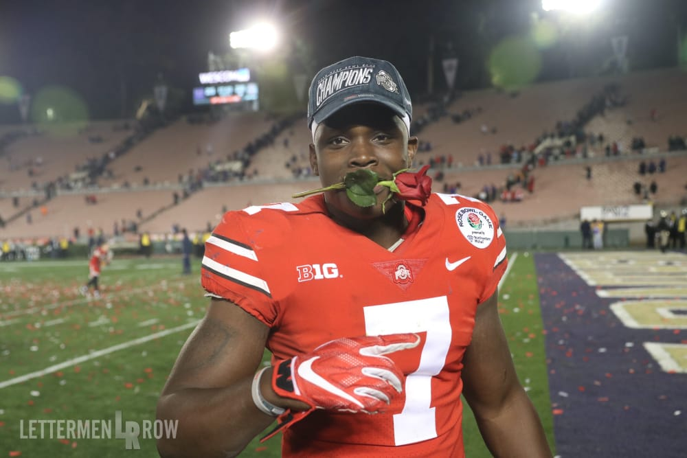 Ohio State-Teradja Mitchell-Ohio State football-Buckeyes