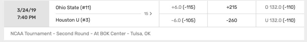 Ohio State-Houston-Buckeyes-Ohio State basketball-NCAA Tournament