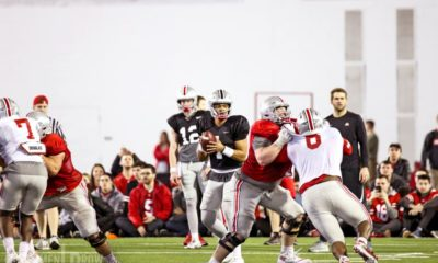 ohio state spring practice-justin fields