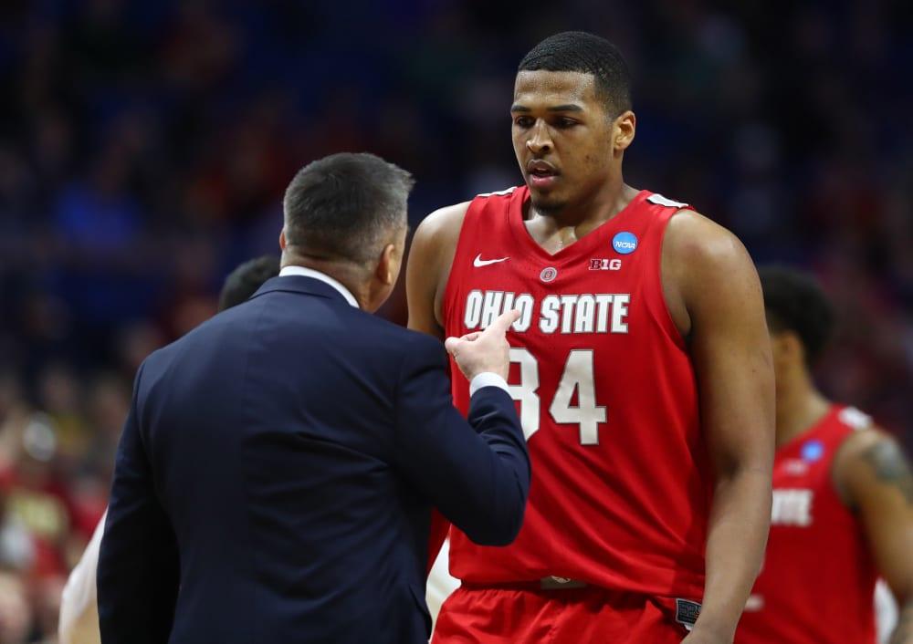 Ohio State-Chris Holtmann-Kaleb Wesson-NCAA Tournament-Buckeyes