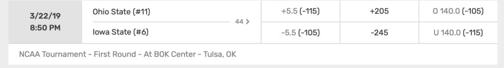 Ohio State-Iowa State-NCAA Tournament-Buckeyes-Ohio State basketball