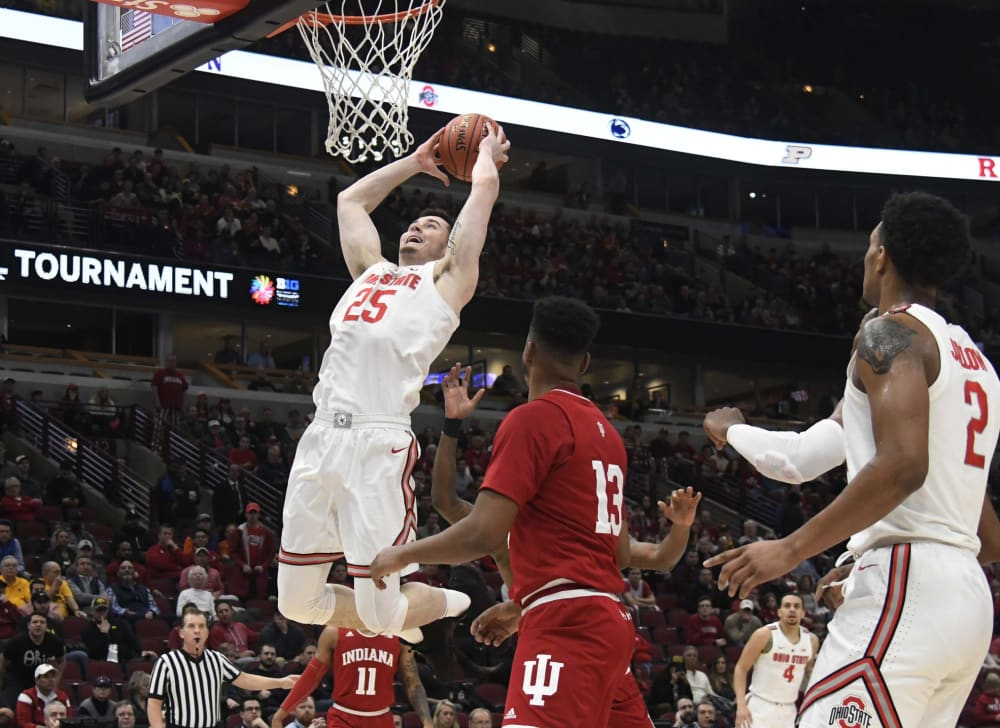 Kyle Young-Ohio State-Buckeyes-Ohio State basketball