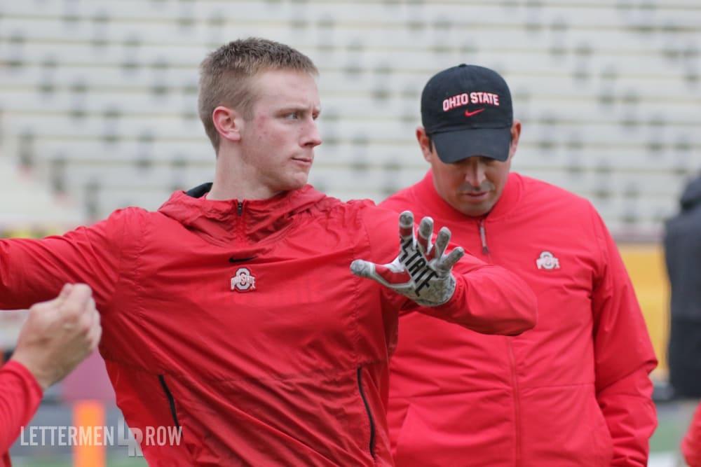 Matthew Baldwin-Ryan Day-Ohio State-Buckeyes-Ohio State football