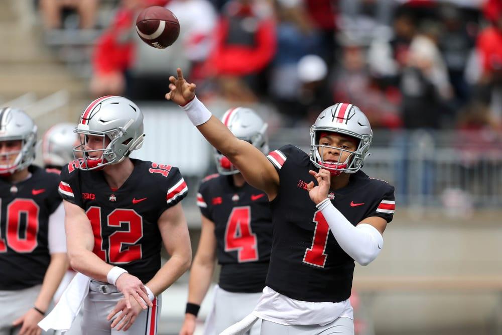 Justin Fields-Matthew Baldwin-Buckeyes-Ohio State football-Ohio State