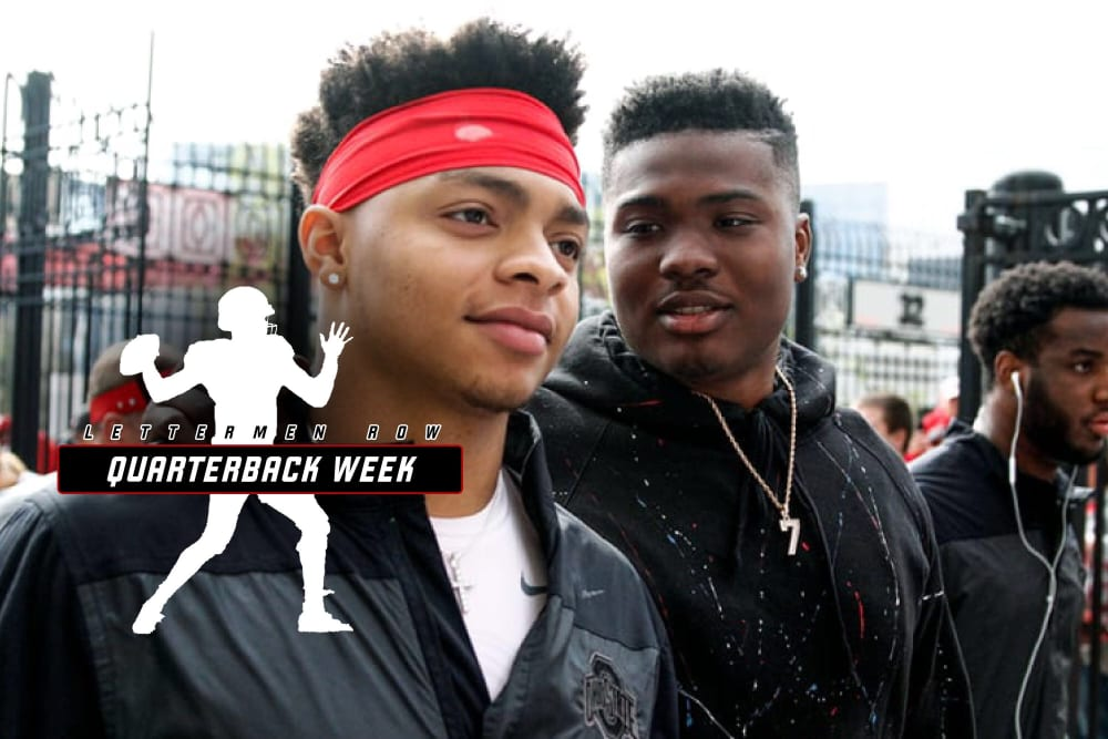 Justin Fields-Dwayne Haskins-Ohio State-Buckeyes-Ohio State football