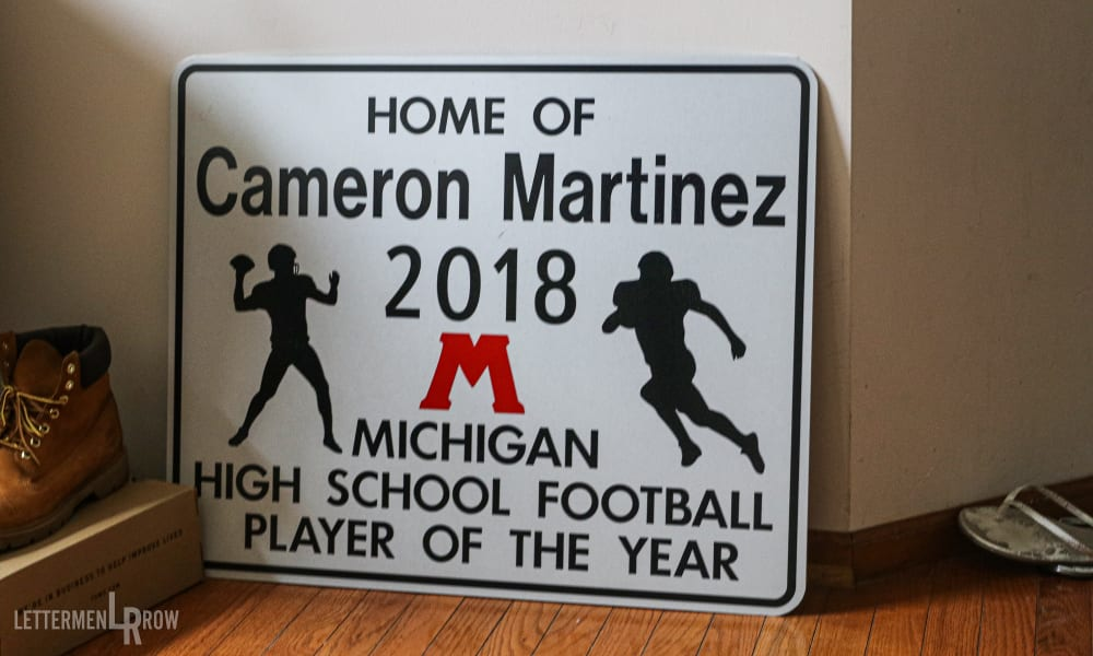 Cameron Martinez-Ohio State-Muskegon-Ohio State football