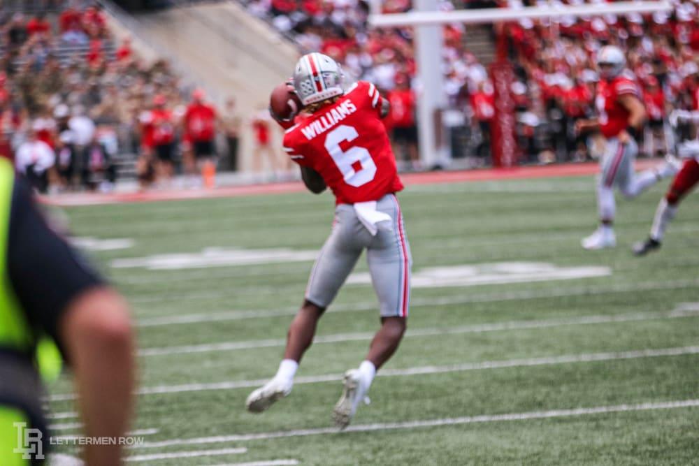 Jameson Williams-Ohio State-Ohio State Football-Ohio State Buckeyes
