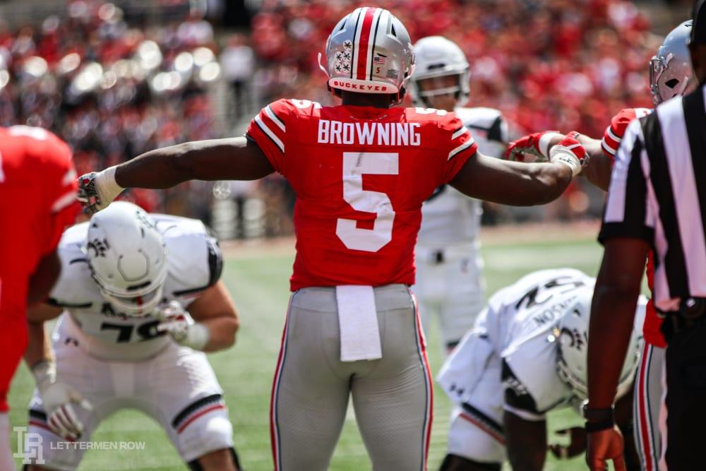 baron browning-ohio state-ohio state football