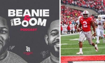 ohio state-beanie and the boom-jk dobbins