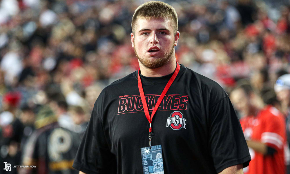 Trey Leroux-Ohio State-Ohio state football-Buckeyes