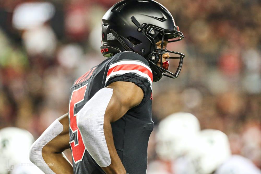 Garrett Wilson-Ohio state-Ohio State football-Ohio State Buckeyes