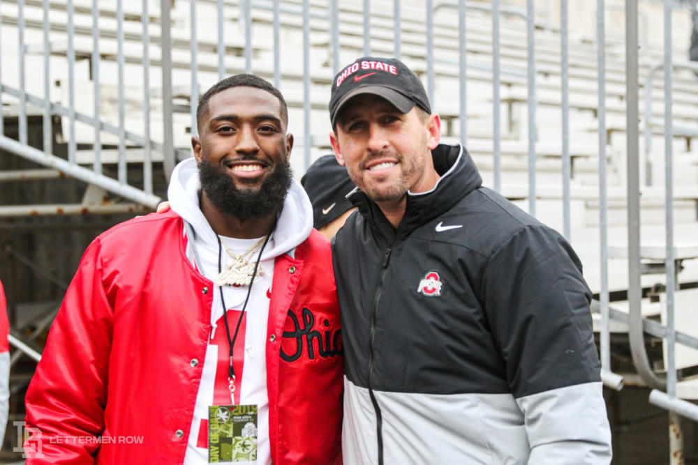 Parris Campbell-Brian Hartline-Ohio State-Buckeyes-Ohio State football