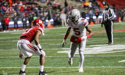 Garrett Wilson-Ohio State-Ohio State football-Buckeyes
