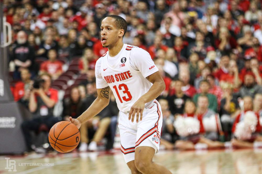 CJ Walker-Ohio State basketball-Ohio State-buckeyes