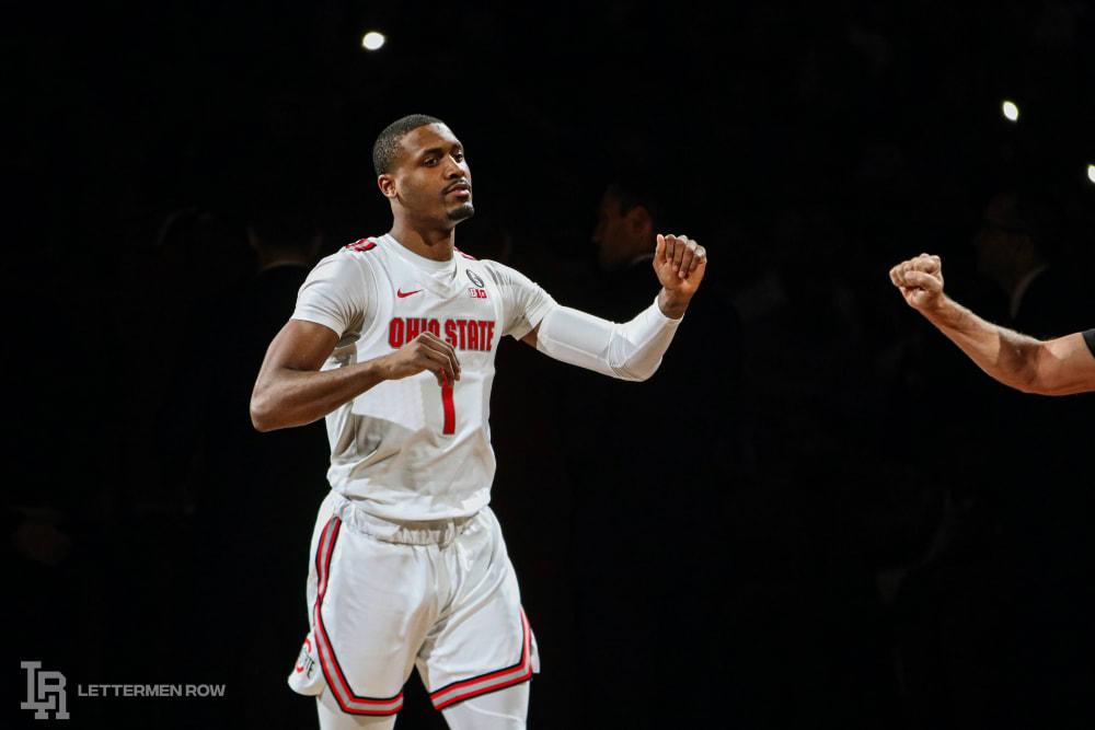 Luther Muhammad-Ohio State-Ohio State basketball-Buckeyes
