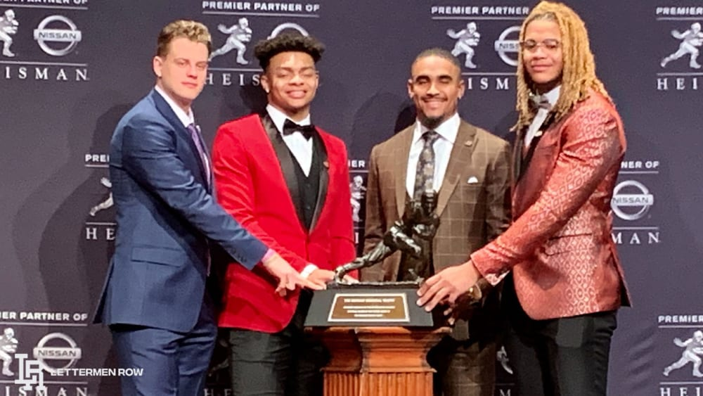 Heisman Trophy-Joe Burrow-Justin Fields-Jalen Hurts-Chase Young