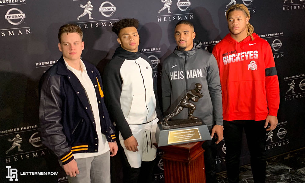 Ohio State-Chase Young-Justin Fields-Joe Burrow-Heisman Trophy