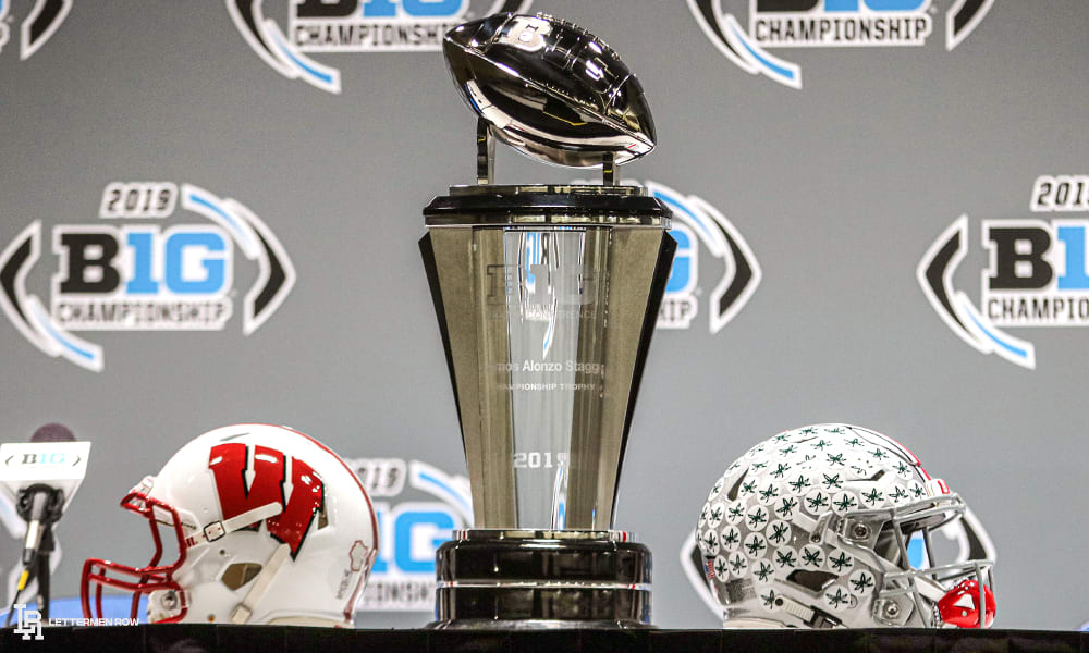 big ten championship-ohio state wisconsin 2019-big ten championship ohio state-buckeyes football-ohio state football