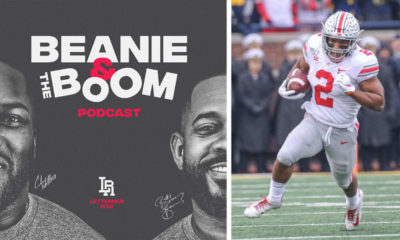 beanie and the boom podcast - j.k. dobbins