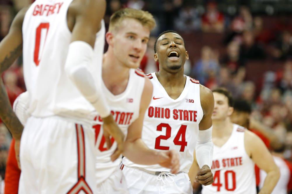 Ohio State-Ohio State basketball- buckeyes