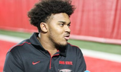 Paris Johnson Jr.-Ohio State-Ohio State football-Buckeyes