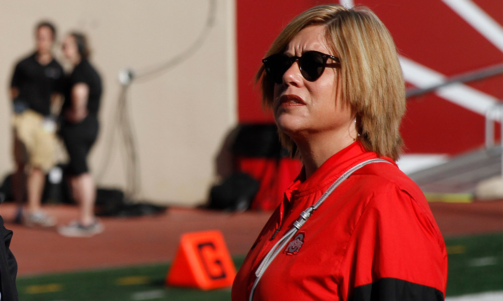 Diana Sabau-Ohio State-Buckeyes-Ohio State football