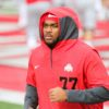 Paris Johnson Jr.-Ohio State-Ohio State football-Buckeyes