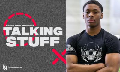 Derrick Davis-Talking Stuff-Ohio State-Ohio State football-Buckeyes