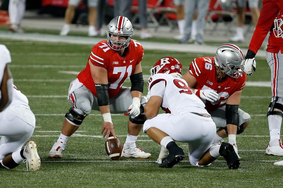Josh Myers-Ohio State-Ohio State football-Buckeyes