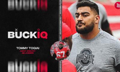 Tommy Togiai-Robert Landers-Buckeyes-Ohio State-Ohio State football