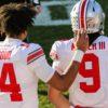 C.J. Stroud-Jack Miller-Buckeyes-Ohio State-Ohio State football