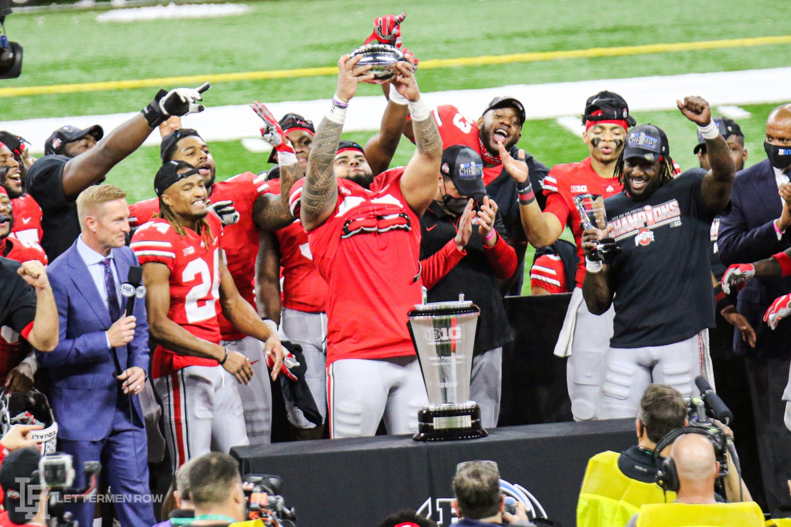ohio state-ohio state big ten championship 2020-ohio state northwestern-ohio state trey sermon-ohio state big ten title stats highlights-ohio state buckeyes football